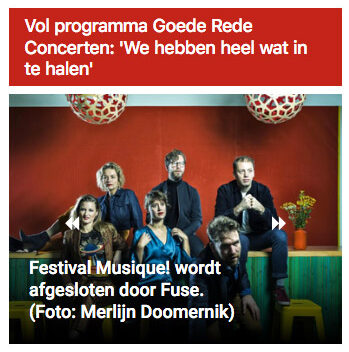 Artikel in Almere Deze Week, 24 juni 2021