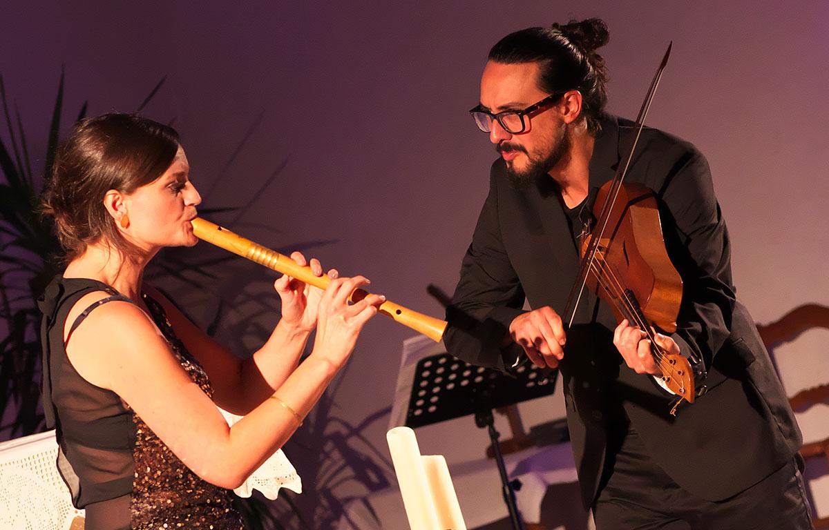 Anna Stegmann en Jorge Jiménez, foto Susanne Schulte
