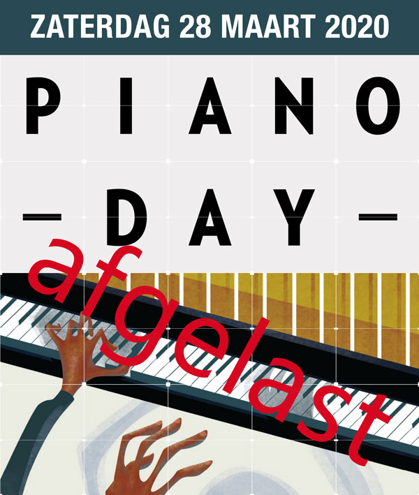 Piano Day afgelast