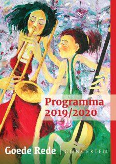 Goede Rede Concerten programma 2019-2020