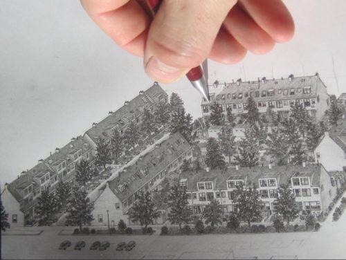 Tim ter Wal, Hand met potlood