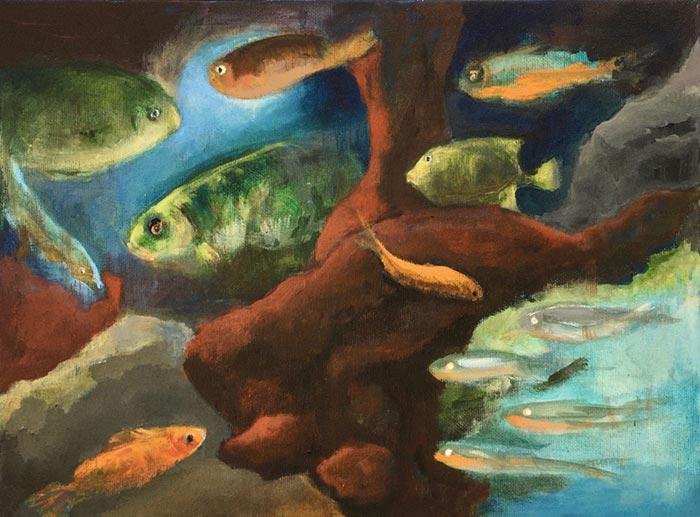 Wilma Klaver, artis aquarium